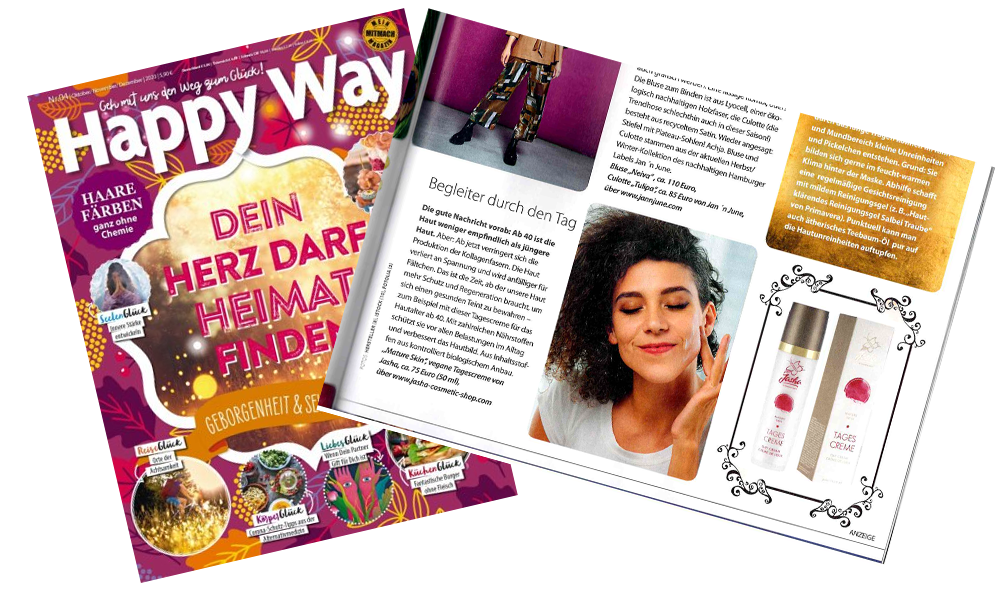 Happy Way Magazin Herbst 2020